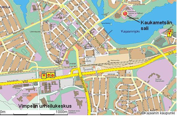 Kartta Kajaani